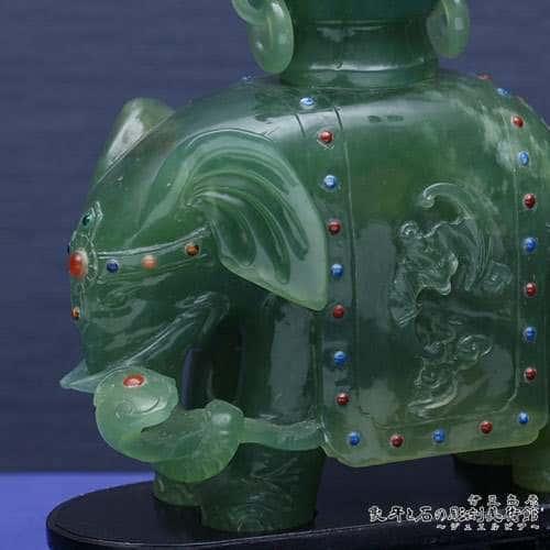 翡翠彫刻 象